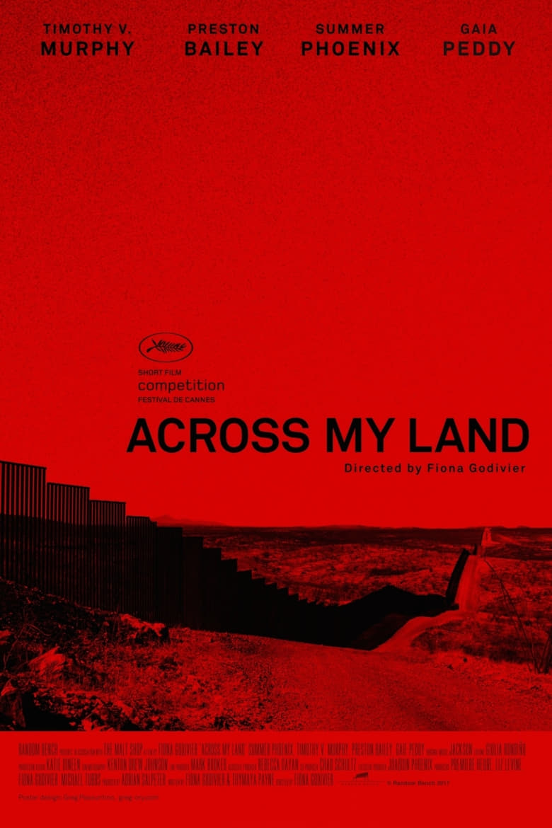 Across My Land - poster
