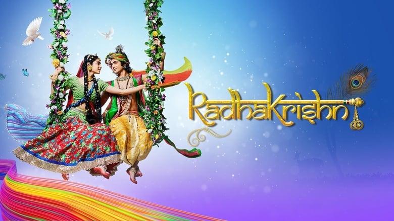 RadhaKrishn banner backdrop