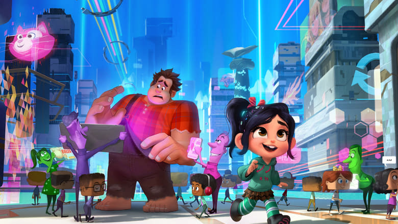 Wreck It Ralph 2 (2018) Full Movie Watch Online Free Download