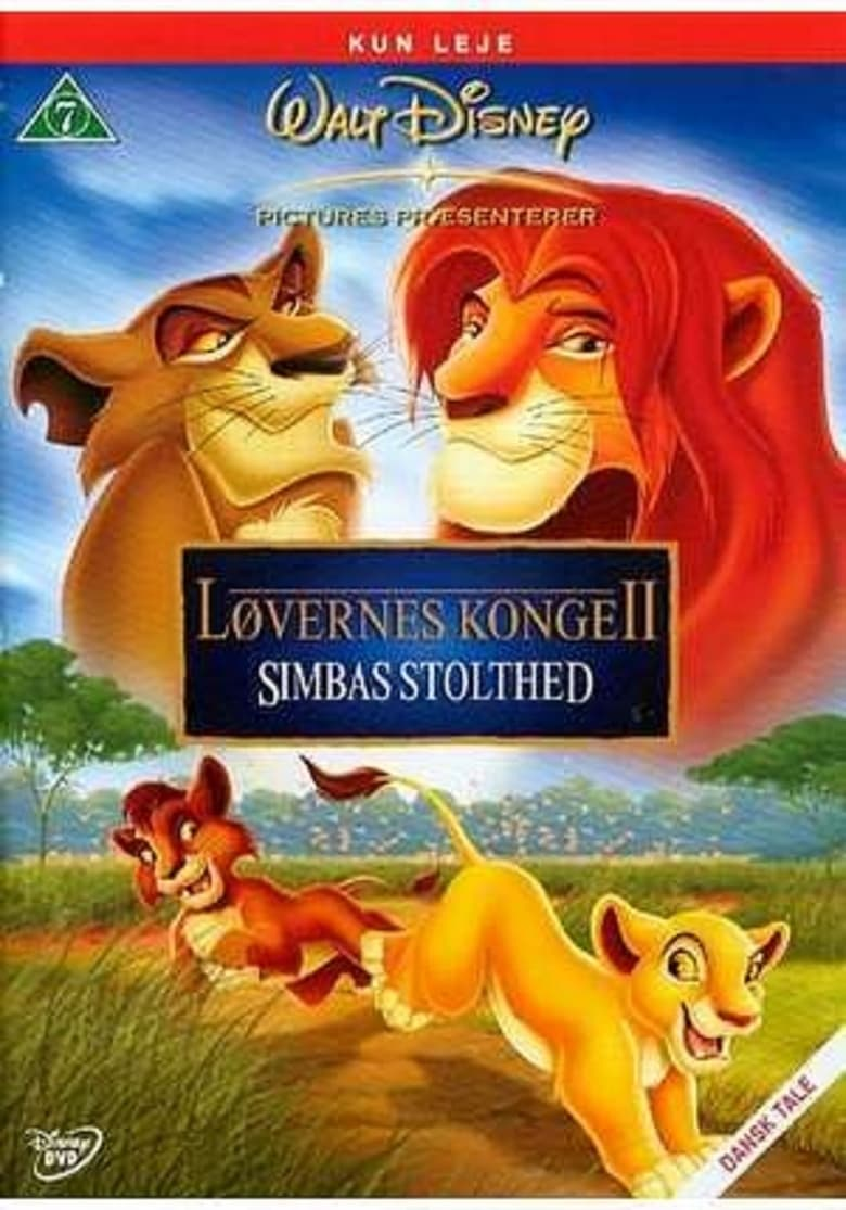 The Lion King II: Simba's Pride Cast : Cast and Crew of ...