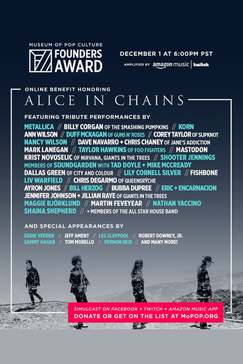 MoPOP Founders Award 2020 Honoring Alice in Chains (2020)