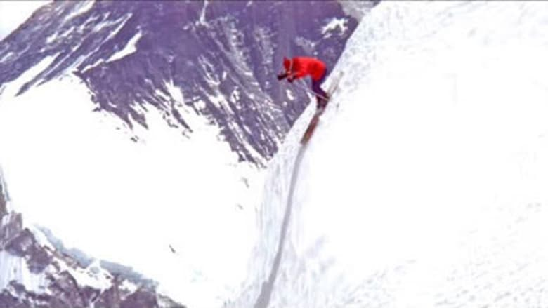 The Man Who Skied Down Everest banner backdrop