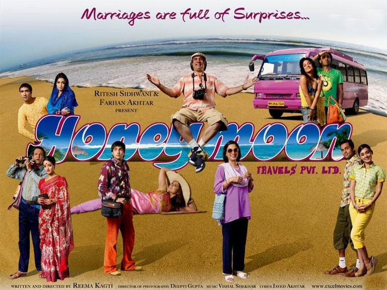 Honeymoon Travels Pvt. Ltd. Pelicula Completa