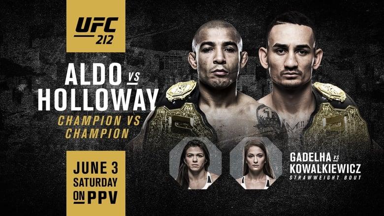 UFC 212: Aldo vs. Holloway