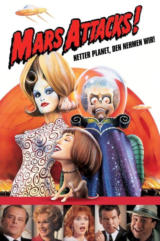 Mars Attacks! - Komödie / 1997 / ab 12 Jahre