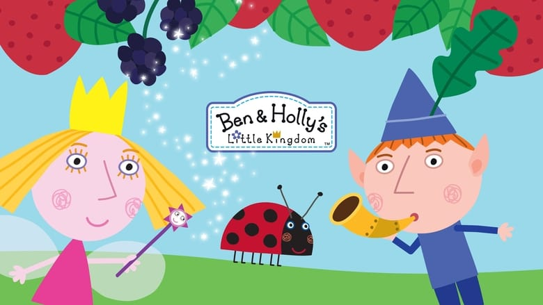 Ben and Holly's Little Kingdom banner backdrop