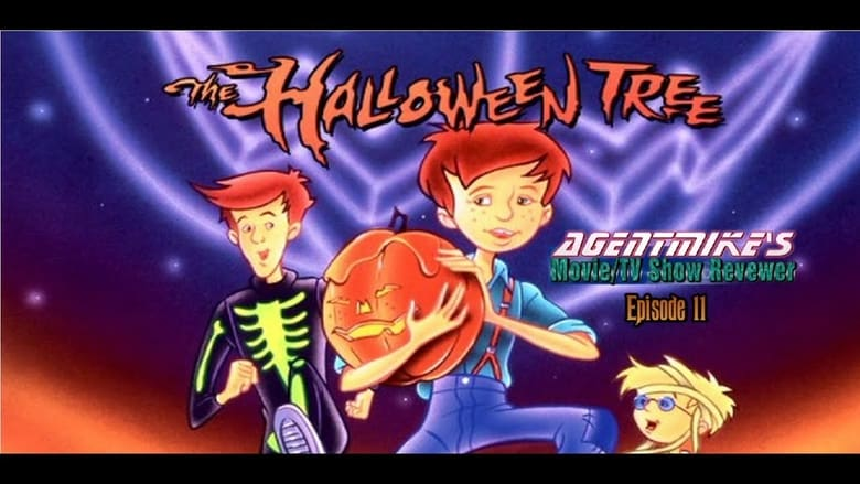 The Halloween Tree banner backdrop