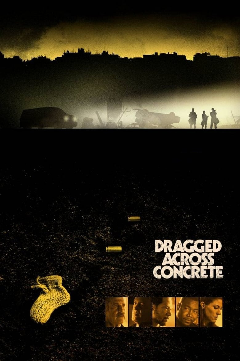 Dragged Across Concrete - poster