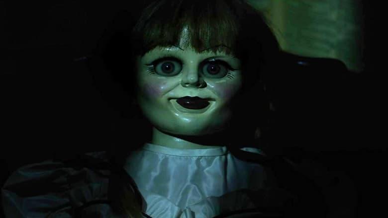 кадр из фильма Проклятие Аннабель 3