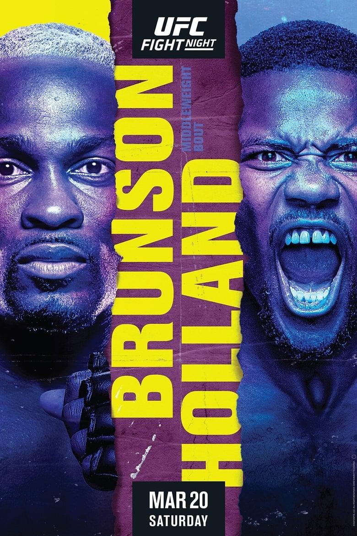 UFC on ESPN 21: Brunson vs. Holland