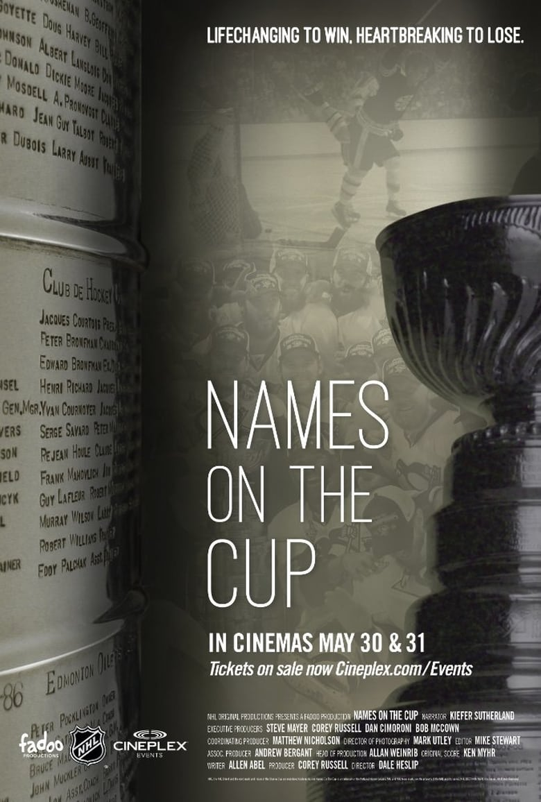Names on the Cup - poster
