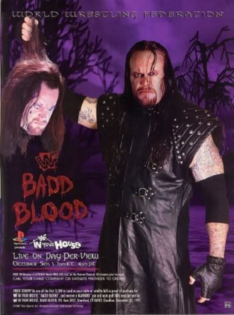WWE Badd Blood: In Your House (1997)