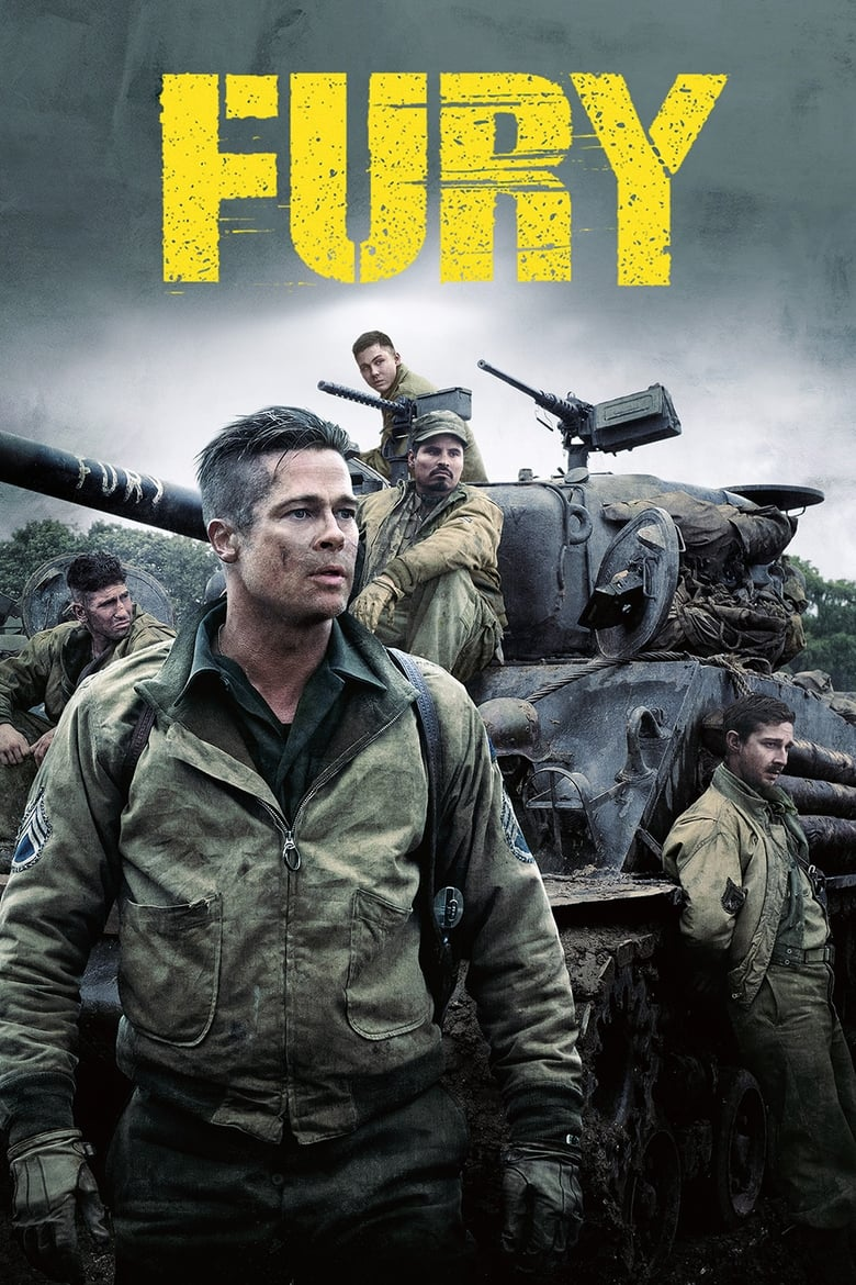 Fury - poster