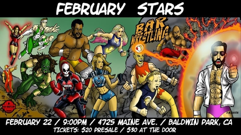 Guarda Bar Wrestling 9: February Stars Gratis Online