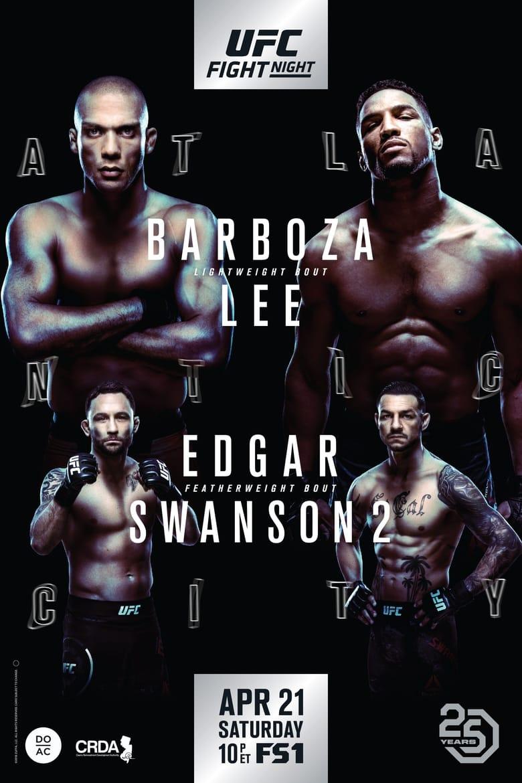 UFC Fight Night 128: Barboza vs. Lee