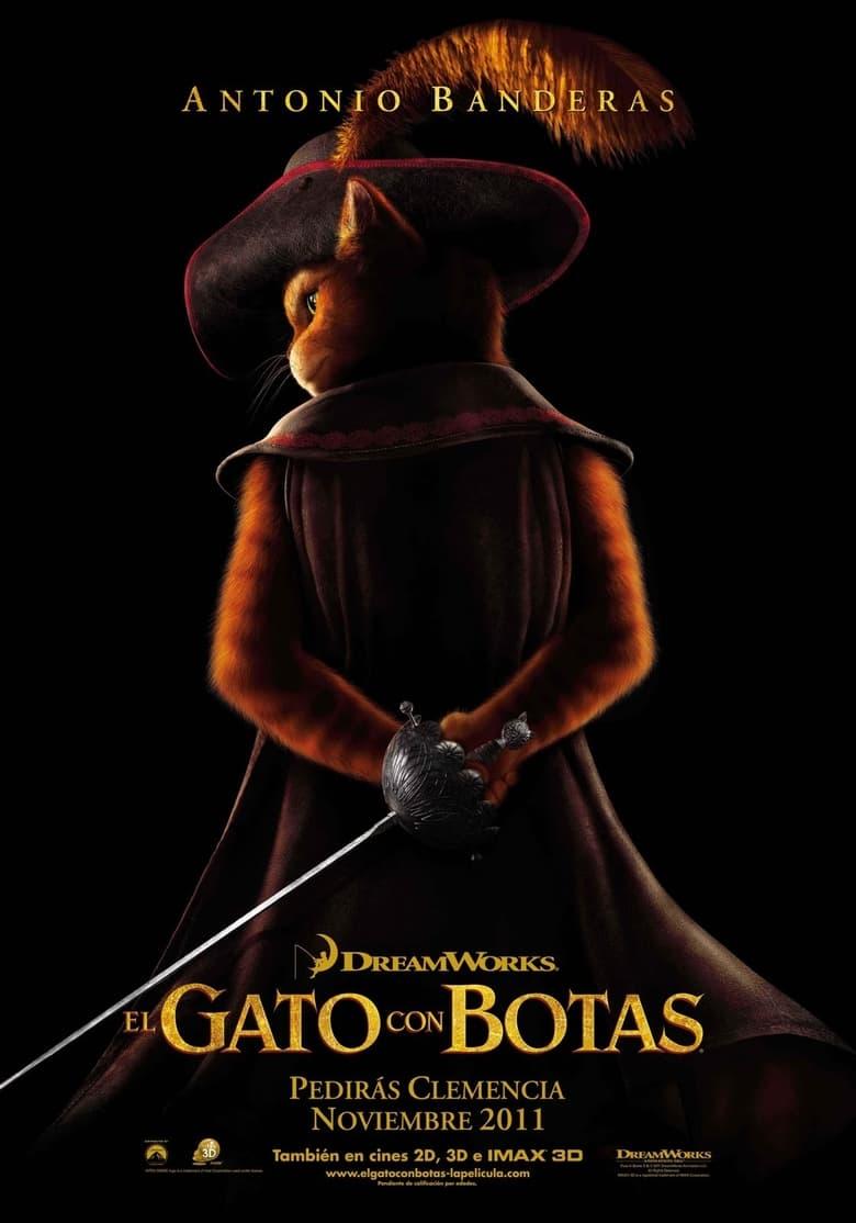 Pelicula El Gato Con Botas (2011) Latino/Ingles HD 1080p Online imagen