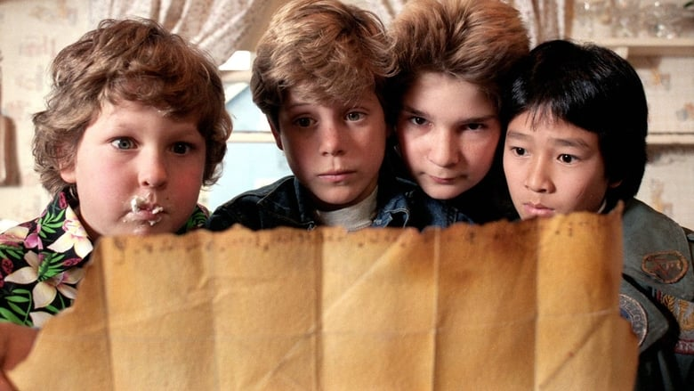 The Goonies banner backdrop