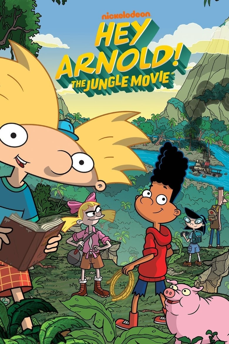 Εξώφυλλο του Hey Arnold! The Jungle Movie