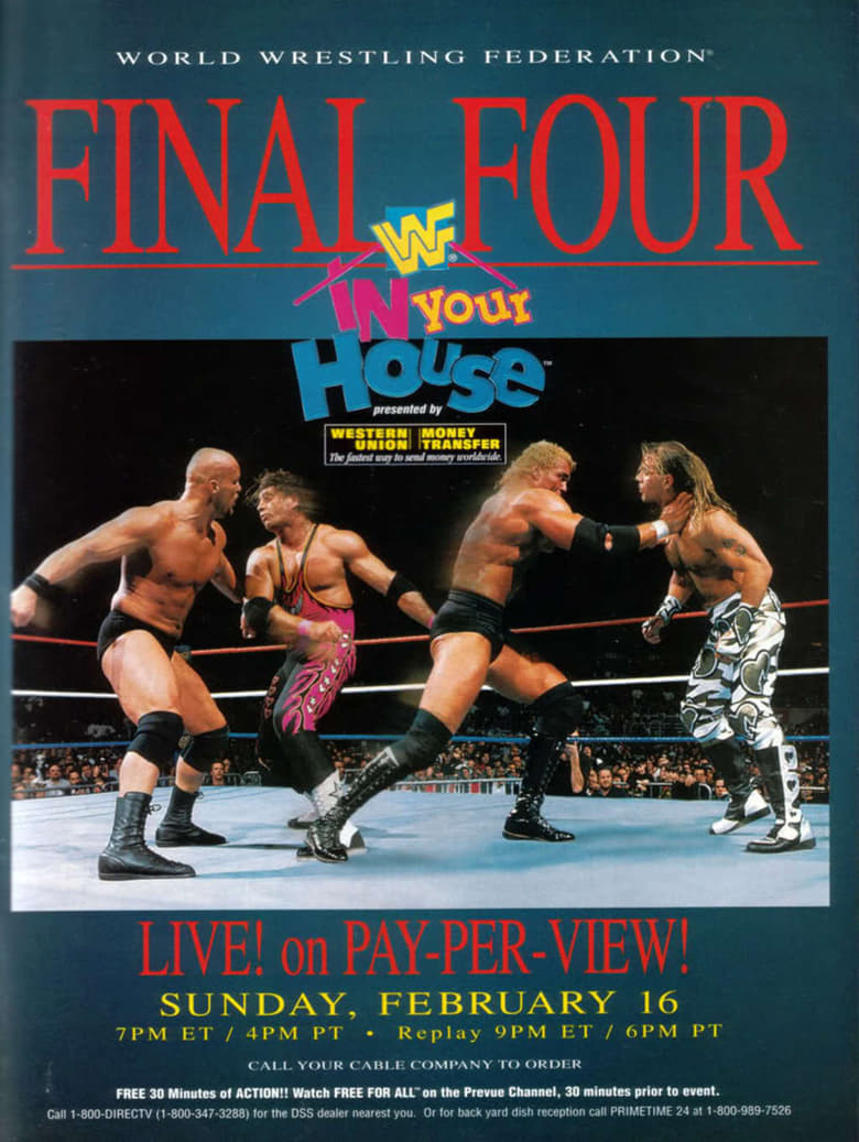 WWE In Your House 13: Final Four (1997)