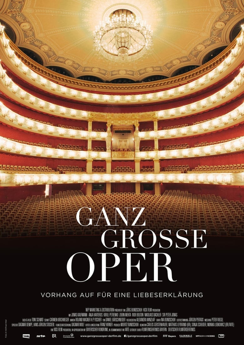 Ganz große Oper - poster