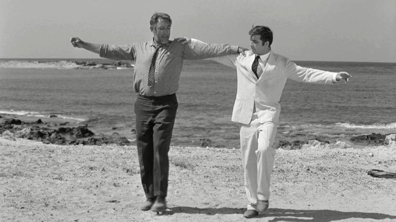 кадр из фильма Грек Зорба