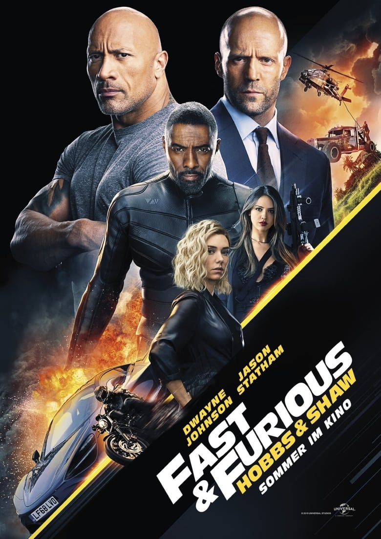 Fast & Furious: Hobbs & Shaw - Action / 2019 / ab 12 Jahre