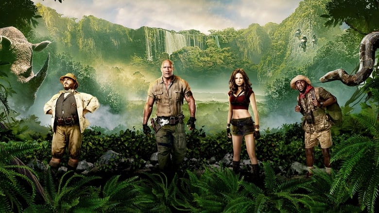 Jumanji: Welcome to the Jungle (2017) Movie Watch Online Hindi Dubbed