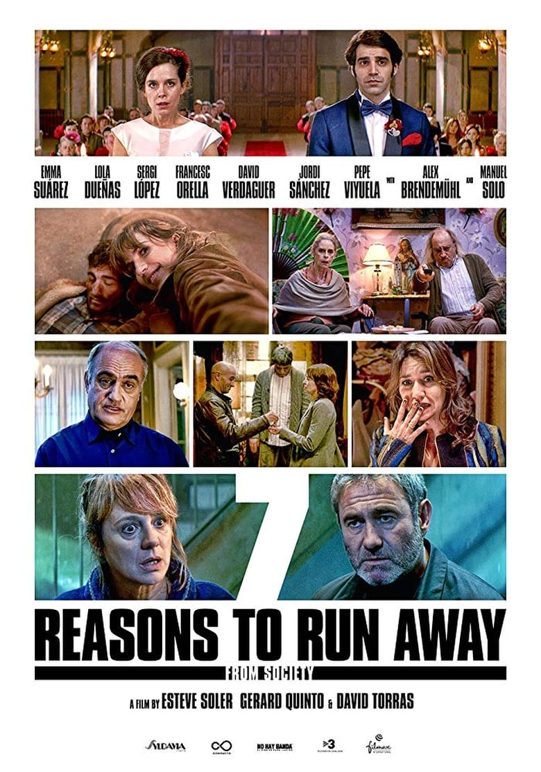 7 Reasons to Run Away (from Society) - poster