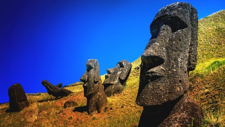 Easter Island Unsolved banner backdrop