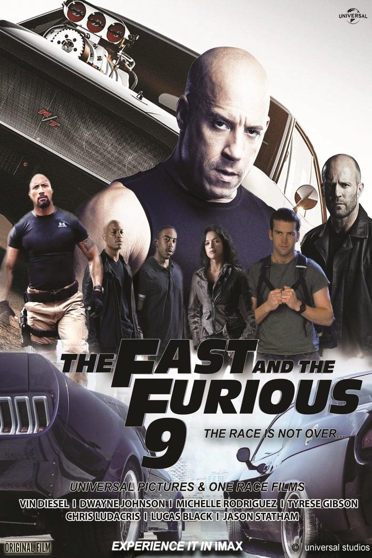 Εξώφυλλο του Fast & Furious 9