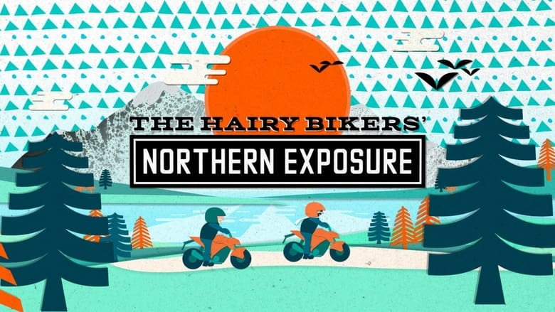 The Hairy Bikers'  Northern Exposure banner backdrop