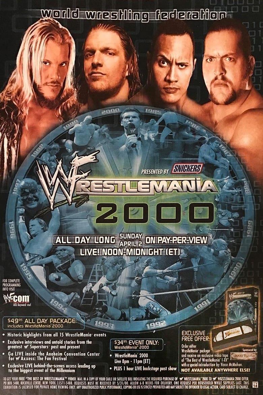 WWE WrestleMania 2000 (2000)