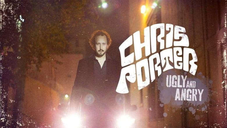 Chris Porter: Ugly and Angry banner backdrop