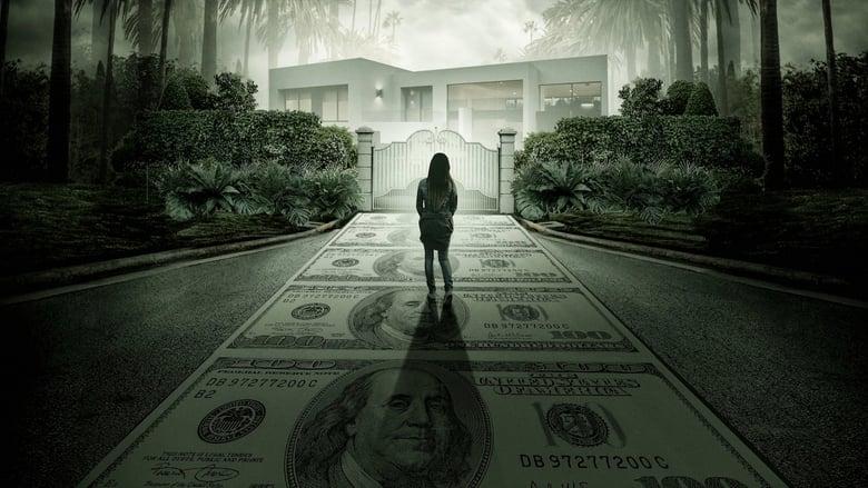 Jeffrey Epstein: Filthy Rich banner backdrop