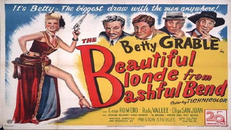 The Beautiful Blonde from Bashful Bend Pelicula Completa