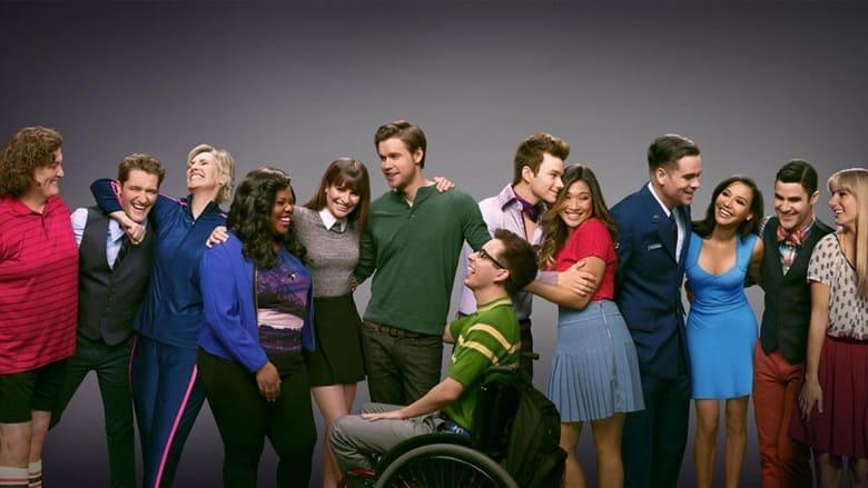 Glee banner backdrop