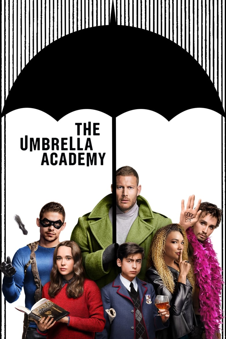 Poster for Serial The Umbrella Academy