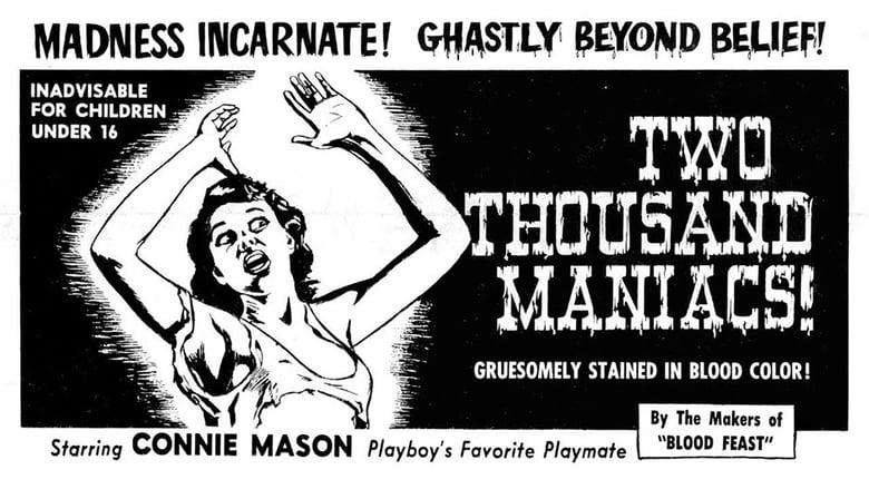 Watch Two Thousand Maniacs! free
