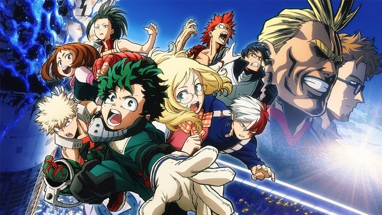 My Hero Academia the Movie The Two Heroes
