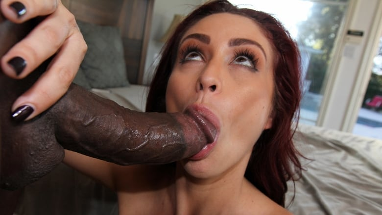 Big black cock makes her cry