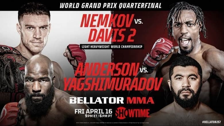 مشاهدة فيلم Bellator 257: Nemkov vs. Davis 2 2021 مترجم اونلاين