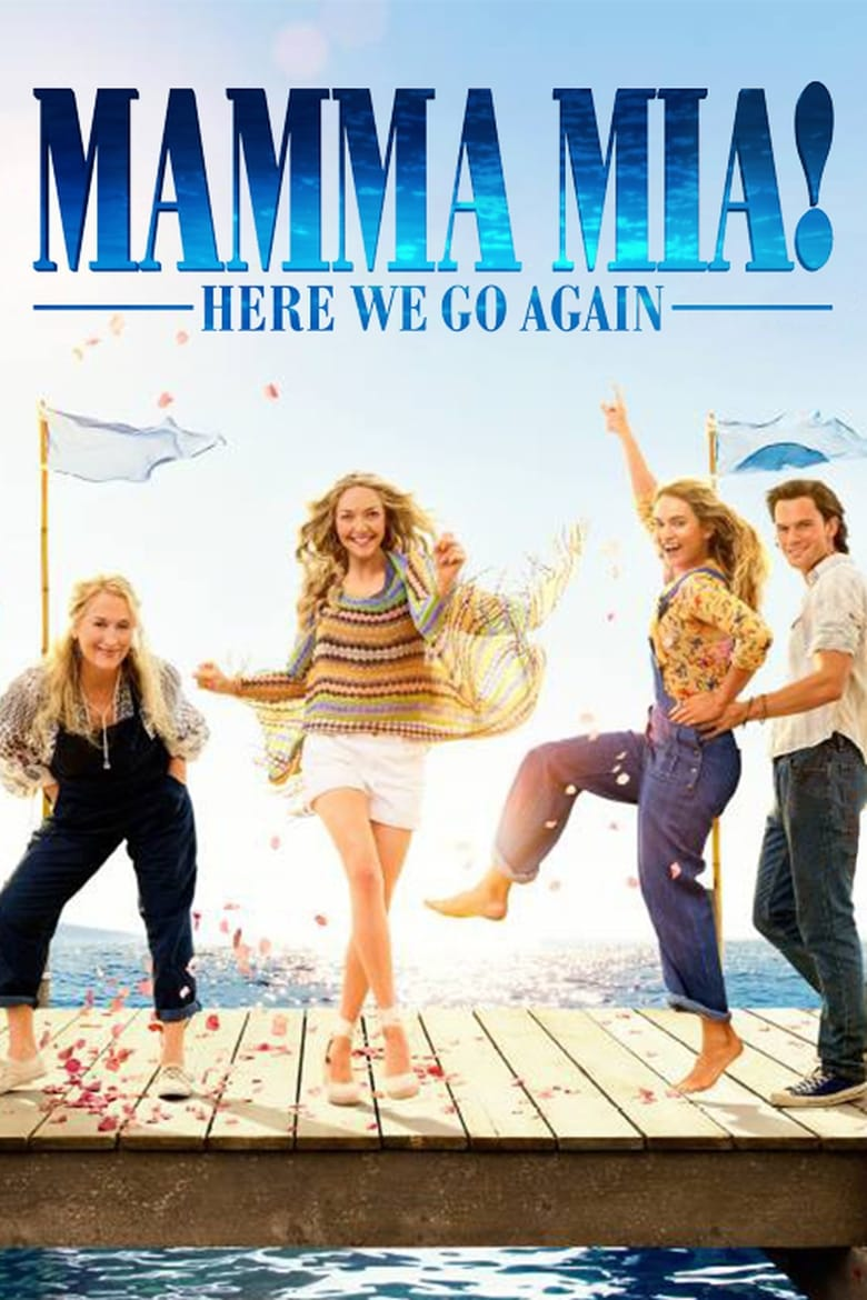 Mamma Mia! Here We Go Again - poster