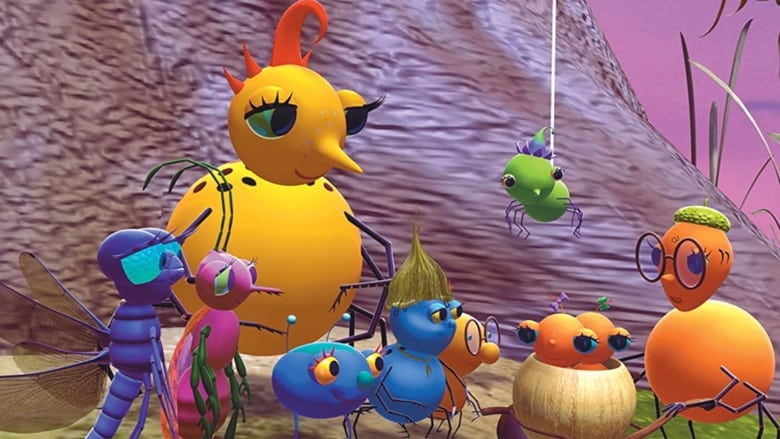 Miss Spider's Sunny Patch Friends banner backdrop