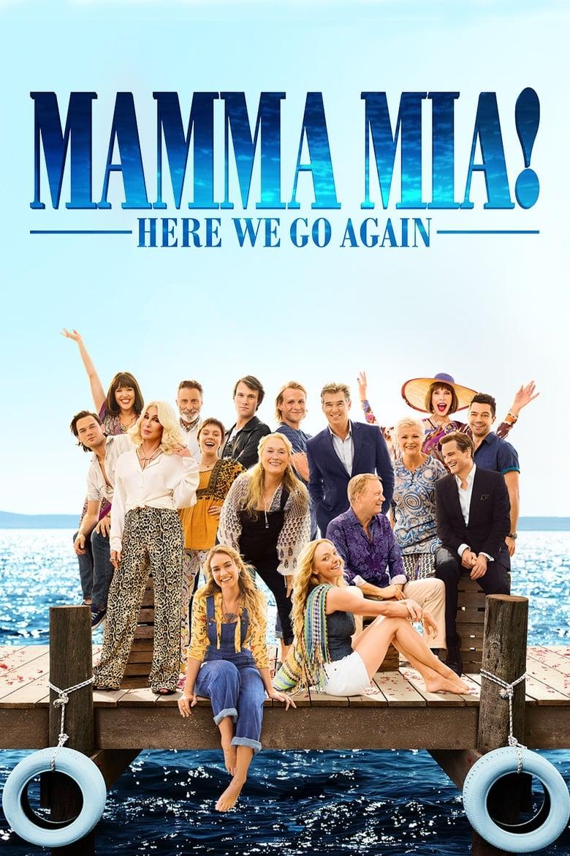 Εξώφυλλο του Mamma Mia! Here We Go Again
