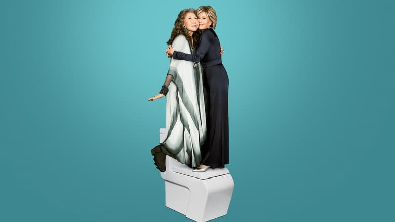 Grace and Frankie banner backdrop