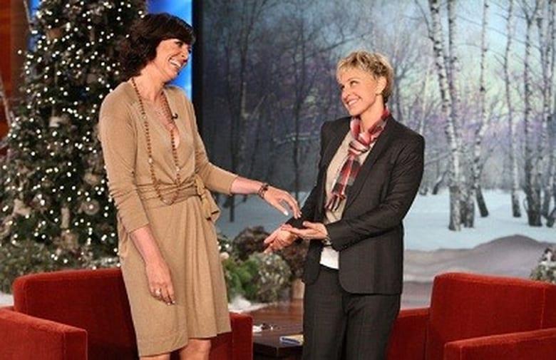 The Ellen Degeneres Show Season 9 Episode 64 Day 8 Of 12 Days Of Giveaways Allison Janney