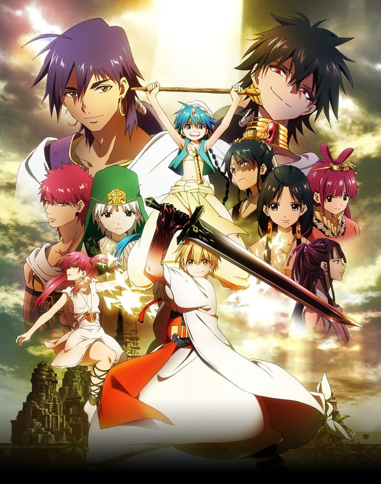 magi the labyrinth of magic saison 1 streaming. Black Bedroom Furniture Sets. Home Design Ideas