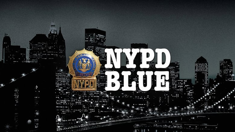 NYPD Blue banner backdrop