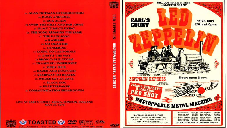 Watch Led Zeppelin - Unstoppable Metal Machine Full Movie Online YTS Movies