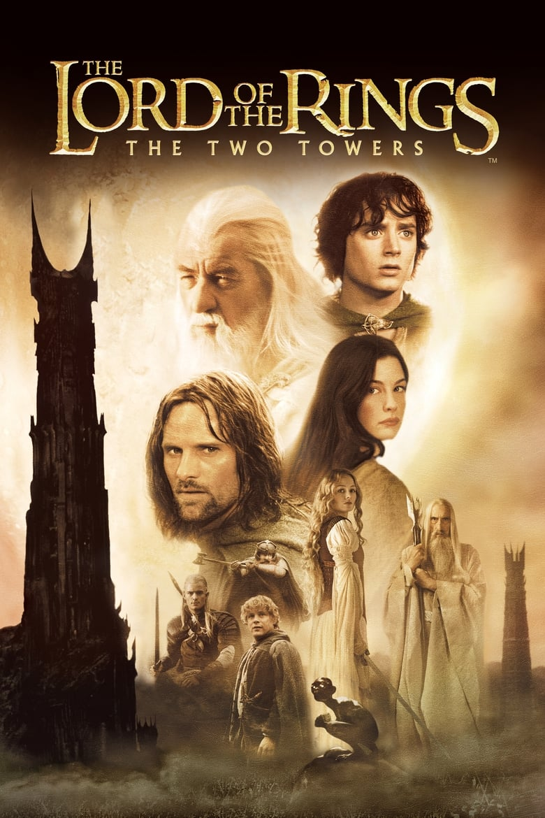 The Lord of the Rings: The Two Towers - poster